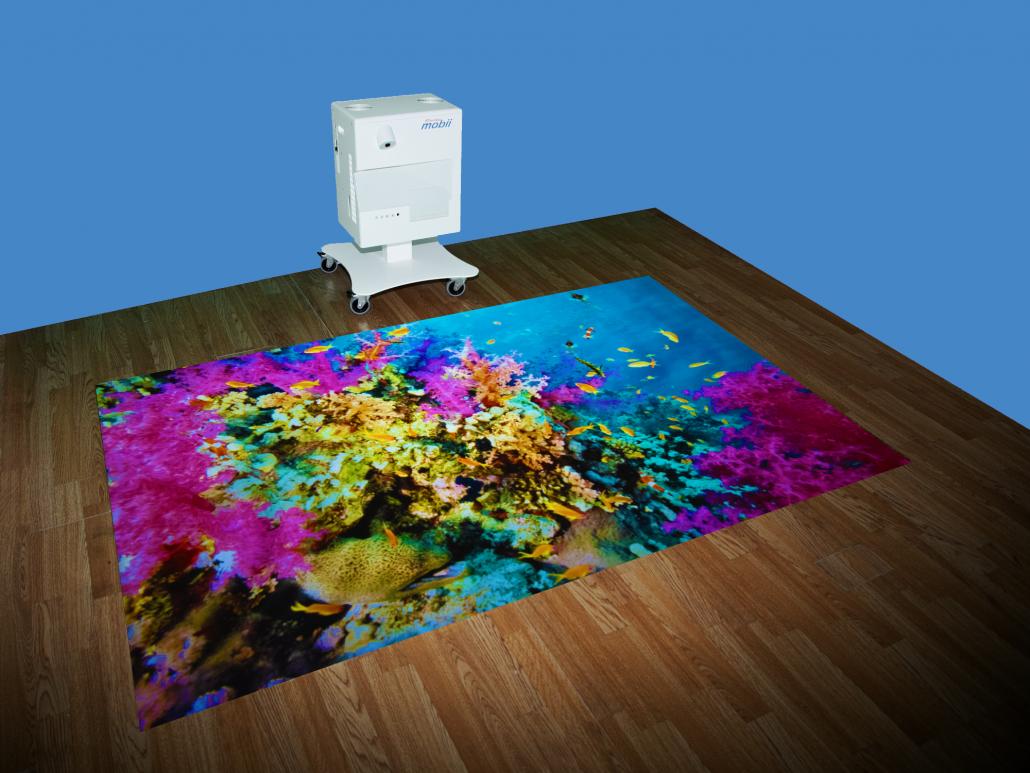 mobii interactive sensory projection on floor