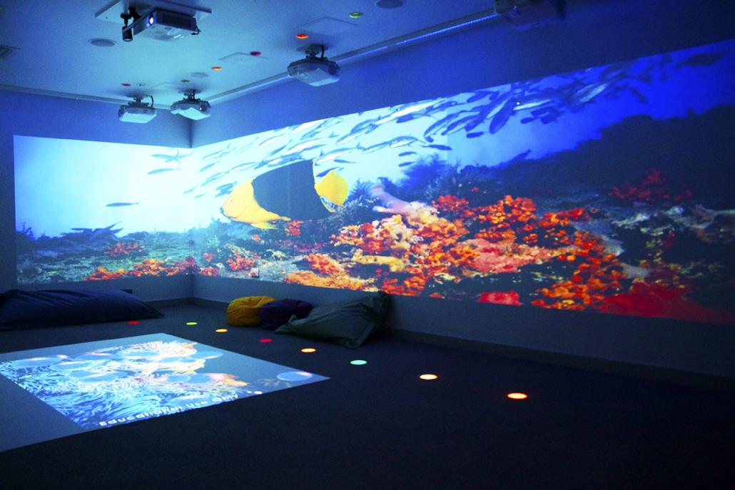 sensory room colourwash interactive lighting