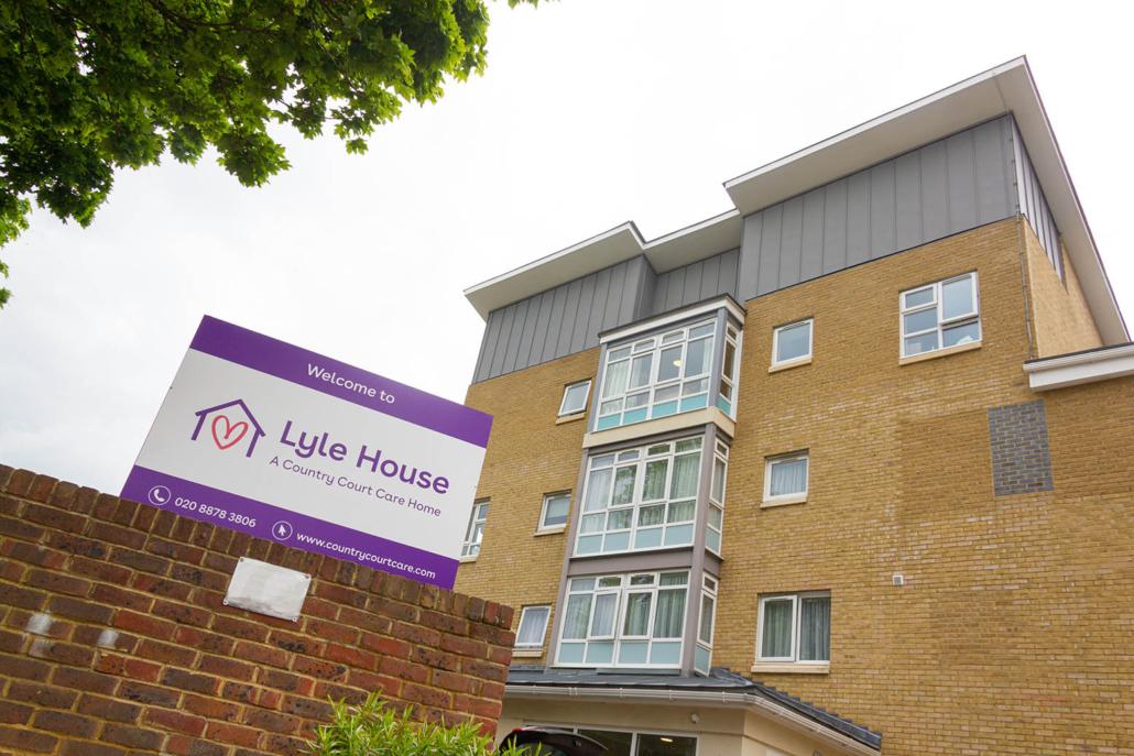 Lyle House Care Home London Exterior