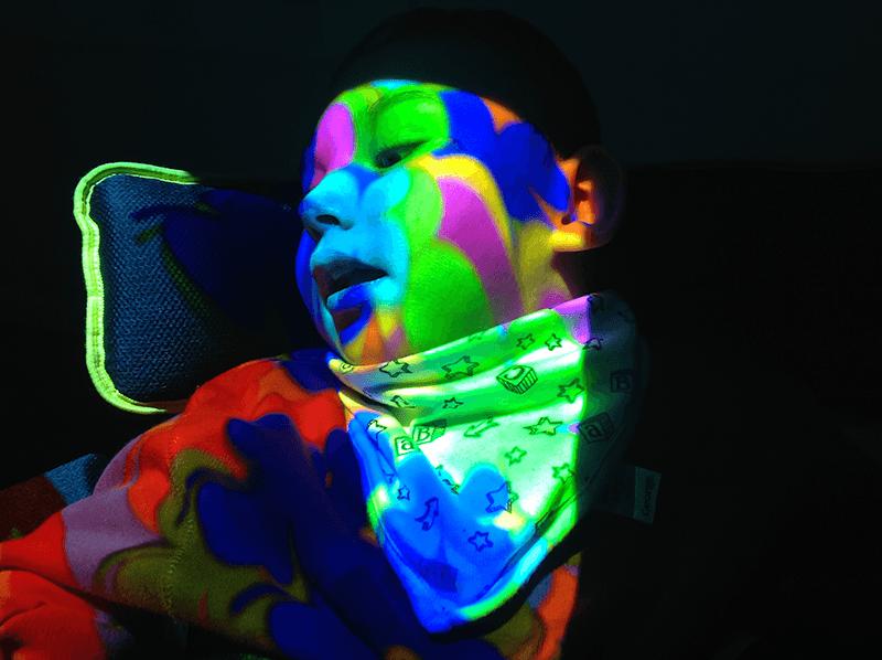 control sensory stimuli with SEN room lighting